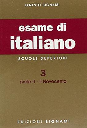 Immagine di BIGNAMI-ESAME DI ITALIANO X LICEI/MAG. - VOLUME 3/2