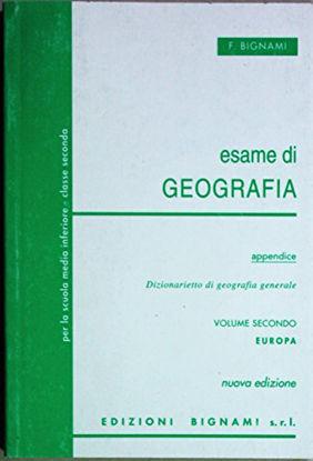Immagine di ESAME DI GEOGRAFIA. - VOLUME 2