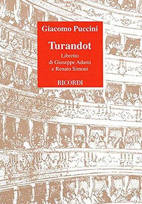 Immagine di TURANDOT  LIBRETTO D`OPERA