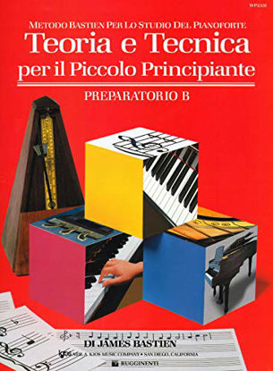 Immagine di TEORIA E TECNICA PER IL PICCOLO PRINCIPIANTE - PREPARATORIO B
