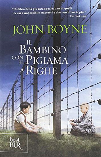 Immagine di BAMBINO CON IL PIGIAMA A RIGHE (IL)