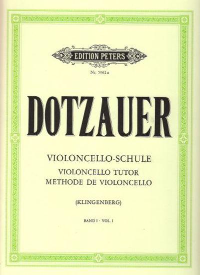 Immagine di VIOLONCELLO-SCHULE VOL. 1 - VIOLONCELLO TUTOR METHODE DE VIOLONCELLO