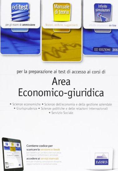 Immagine di EDITEST 13 TEORIA AREA ECONOMICO - GIURIDICA PER LA PREPARAZIONE AI TEST DI ACCESSO