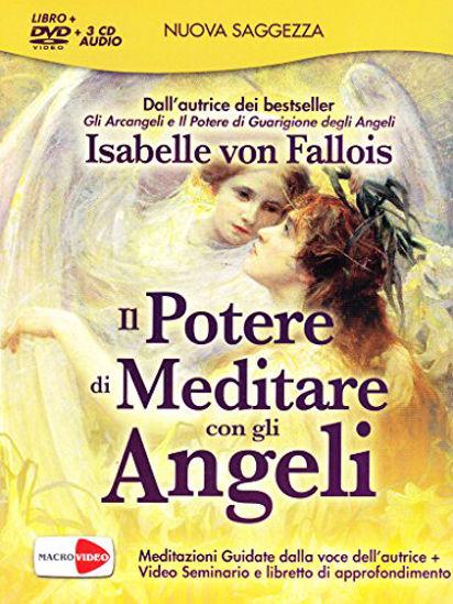 Immagine di POTERE DI MEDITARE CON GLI ANGELI (IL) LIBRO + DVD