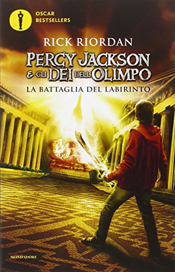 Immagine di PERCY JACKSON E GLI DEI DELL`OLIMPO 4. - LA BATTAGLIA DEL LABIRINTO - VOLUME 4
