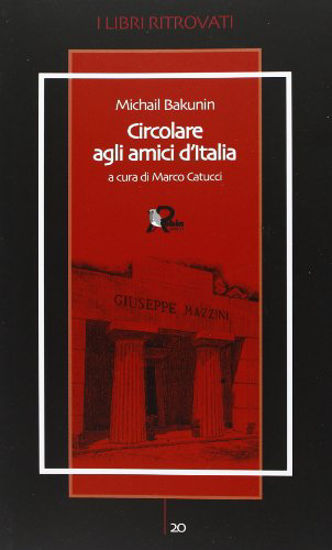 Immagine di CIRCOLARE AGLI AMICI D`ITALIA