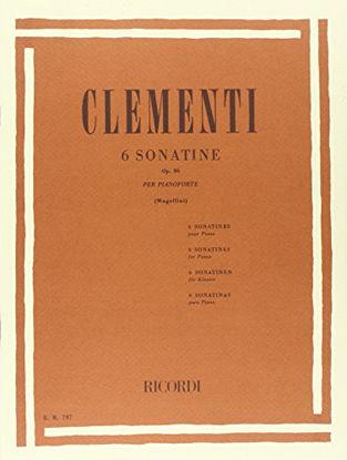 Immagine di SEI SONATINE OP 36 PER PIANOFORTE