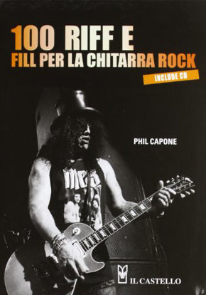 Immagine di 100 RIFF E FILL PER LA CHITARRA ROCK