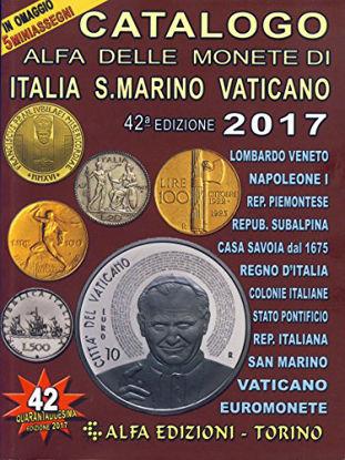 Immagine di CATALOGO ALFA DELLE MONETE DI ITALIA S.MARINO VATICANO 2017