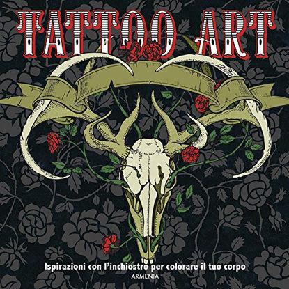 Immagine di TATTOO ART. L`ARTE DEL TATUAGGIO. ISPIRAZIONI CON L`INCHIOSTRO PER COLORARE IL TUO CORPO