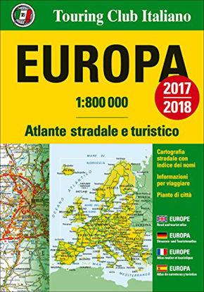 Immagine di EUROPA. ATLANTE STRADALE E TURISTICO 1:800.000