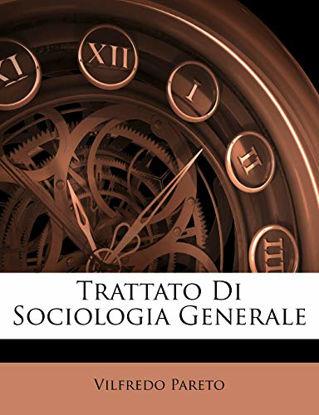 Immagine di TRATTATO DI SOCIOLOGIA GENERALE