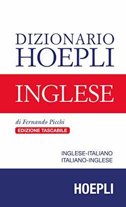 Immagine di DIZIONARIO HOEPLI INGLESE. INGLESE-ITALIANO, ITALIANO-INGLESE