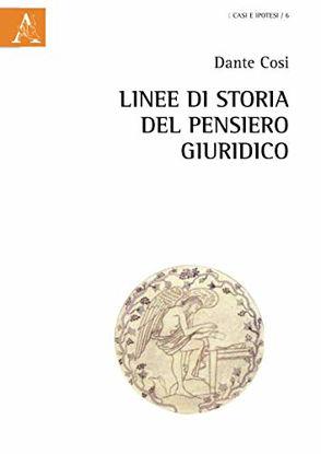 Immagine di LINEE DI STORIA DEL PENSIERO GIURIDICO