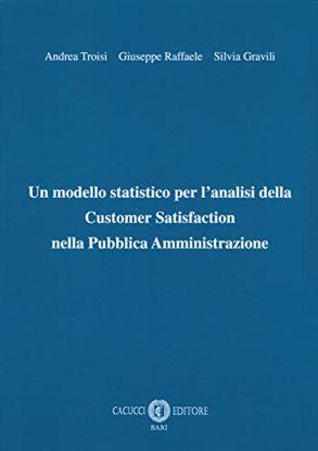 Immagine di UN MODELLO STATISTICO PER L`ANALISI DELLA CUSTOMER SATISFACTION NELLA PUBBLICA AMMINISTRAZIONE