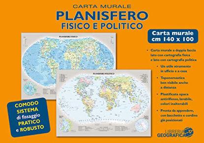 Immagine di PLANISFERO FISICO E POLITICO