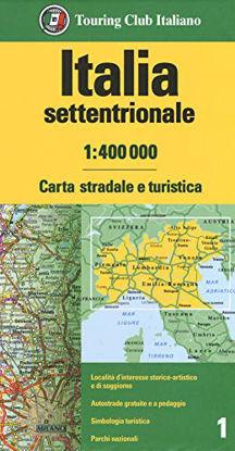 Immagine di ITALIA SETTENTRIONALE 1:400.000. CARTA STRADALE E TURISTICA