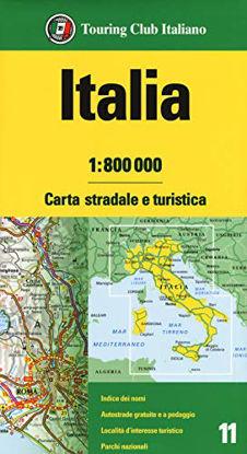 Immagine di ITALIA 1:800.000. CARTA STRADALE E TURISTICA
