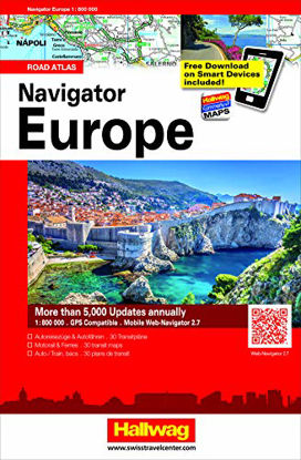 Immagine di NAVIGATOR EUROPE 1:800.000. ROAD ATLAS. EDIZ. MULTILINGUE