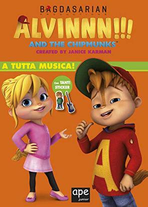 Immagine di A TUTTA MUSICA. ALVINNN!!! AND THE CHIPMUNKS. CON ADESIVI