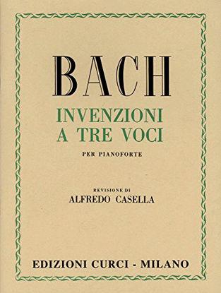 Immagine di INVENZIONI A TRE VOCI PER PIANOFORTE