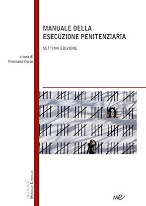 Immagine di MANUALE DELLA ESECUZIONE PENITENZIARIA