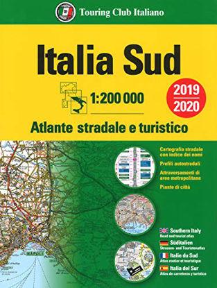 Immagine di ATLANTE STRADALE ITALIA SUD 1:200.000. EDIZ. MULTILINGUE