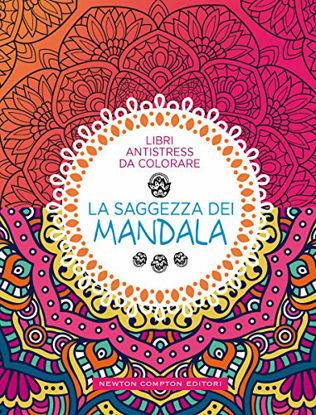 Immagine di SAGGEZZA DEI MANDALA. LIBRI ANTISTRESS DA COLORARE (LA)