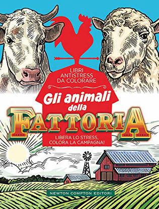 Immagine di ANIMALI DELLA FATTORIA. LIBRI ANTISTRESS DA COLORARE (GLI)