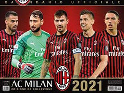 Immagine di MILAN. CALENDARIO ORIZZONTALE 2021