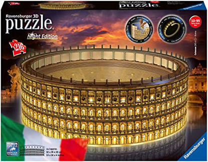Immagine di COLOSSEO PUZZLE 3D - NIGHT EDITION
