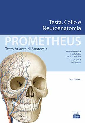 Immagine di PROMETHEUS. TESTO ATLANTE DI ANATONOMIA. TESTA, COLLO E NEUROANATOMIA