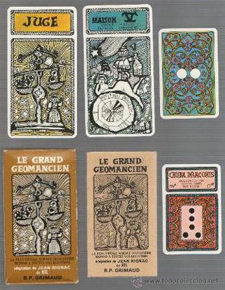 Immagine di LE GRAND GEOMANCIEN TAROCCO 1970 100 CARTE - DI GRIMAUD