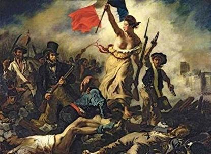 Immagine di PUZZLE 1000 PEZZI - DELACROIX LIBERTY LEADING THE PEOPLE