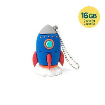 Immagine di CHIAVETTA USB 3.0 - 16 GB - ROCKET
