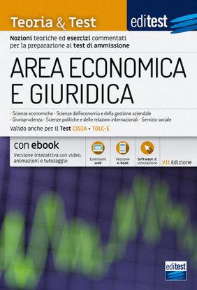 Immagine di EDITEST. AREA ECONOMICA E GIURIDICA. TEORIA & TEST. NOZIONI TEORICHE ED ESERCIZI COMMENTATI PER ...