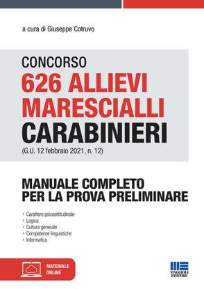 Immagine di CONCORSO 262 ALLIEVI MARESCIALLI CARABINIERI. MANUALE COMPLETO PROVA PRELIMINARE