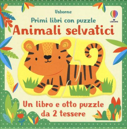 Immagine di ANIMALI SELVATICI. LIBRO E PUZZLE.