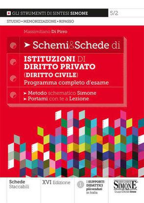 Immagine di SCHEMI & SCHEDE DI ISTITUZIONI DI DIRITTO PRIVATO (DIRITTO CIVILE). 2021