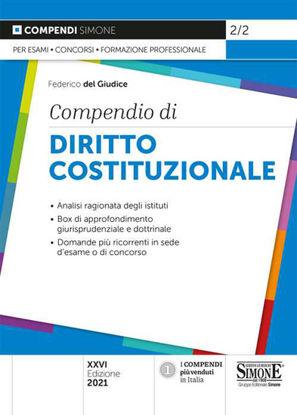 Immagine di COMPENDIO DI DIRITTO COSTITUZIONALE. 2021