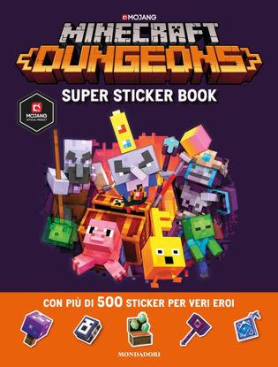 Immagine di MINECRAFT. SUPER STICKER BOOK DUNGEONS