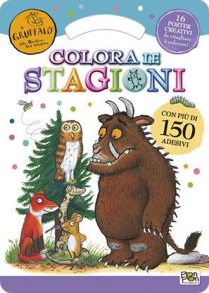 Immagine di COLORA LE STAGIONI. ACTIVITY BOOK. IL GRUFFALO`. CON ADESIVI. EDIZ. ILLUSTRATA