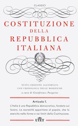 Immagine di COSTITUZIONE DELLA REPUBBLICA ITALIANA. CON CRONOLOGIA DELLE MODIFICHE