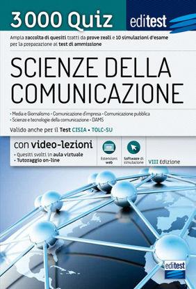 Immagine di EDITEST. SCIENZE DELLA COMUNICAZIONE. 3000 QUIZ. AMPIA RACCOLTA DI QUESITI TRATTI DA PROVE REALI...