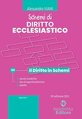 Immagine di SCHEMI DI DIRITTO ECCLESIASTICO. 2021