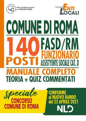 Immagine di CONCORSO 1512. COMUNE DI ROMA:140 POSTI FUNZIONARIO ASSISTENTE SOCIALE CAT.D. 2021