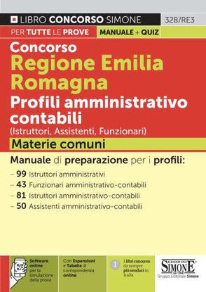 Immagine di CONCORSO REGIONE EMILIA ROMAGNA PROFILI AMMINISTRATIVO CONTABILI ISTRUTTORI, ASSISTENTI, FUNZIONARI