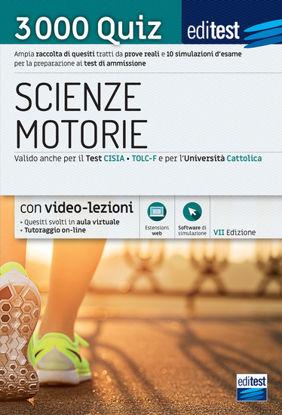 Immagine di EDITEST. SCIENZE MOTORIE. 3000 QUIZ. AMPIA RACCOLTA DI QUESITI TRATTI DA PROVE REALI E 10 SIMULA...