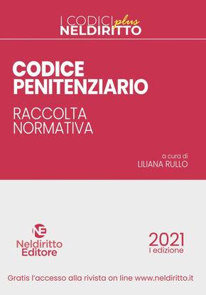 Immagine di CODICE PENITENZIARIO. RACCOLTA NORMATIVA
