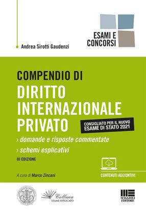 Immagine di COMPENDIO DI DIRITTO INTERNAZIONALE PRIVATO DOMANDE E RISPOSTE COMMENTATE